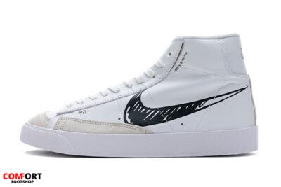 Nike Blazer Mid 77 Sketch White Black